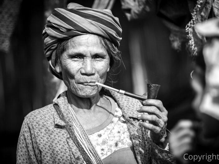 Myanmar - Pavoučí ženy